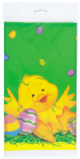 Easter Ducky Party Plastic Tablecover